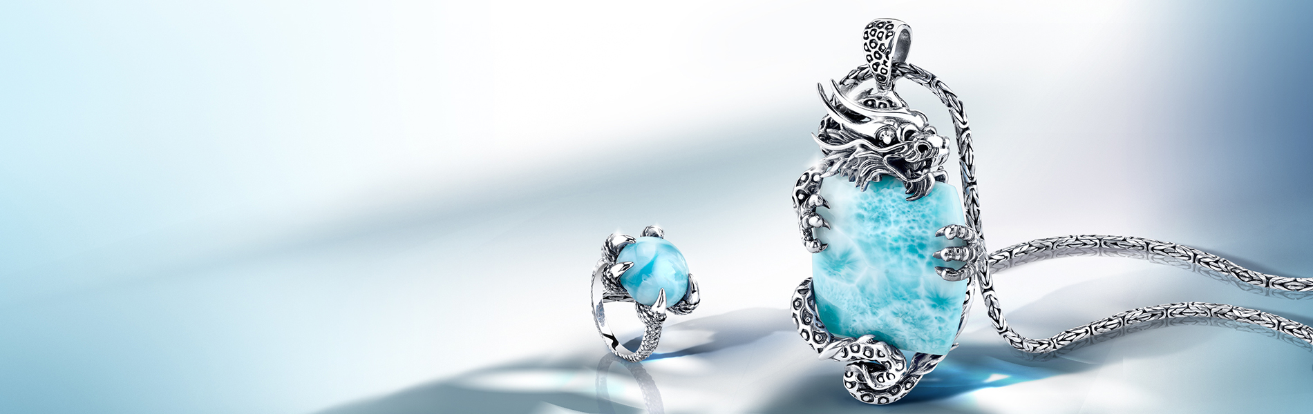 ring ad, pendant ad, jewelry ad, larimar ad, beautiful ad