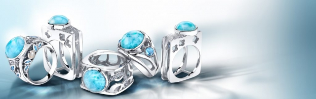 rings, ring ad, jewelry ad, larimar ad, beautiful ad