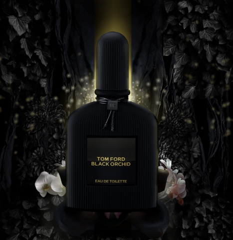tom ford ad, tom ford black orchid ad, tom ford photography, product photography, product ad