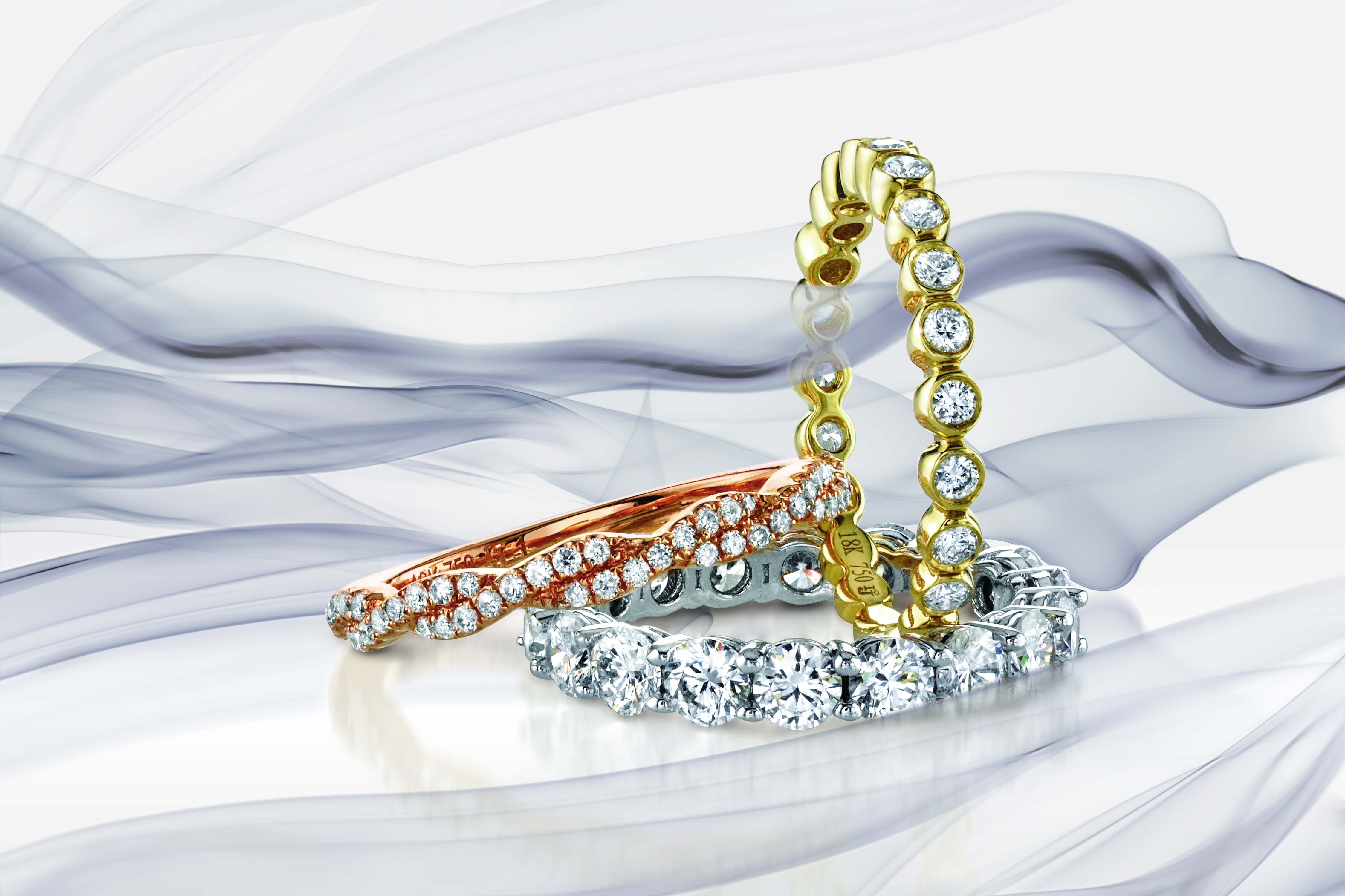 Wedding Band ad, Jewlery Ad, Beautiful Jewelry ad, creative jewelry ad