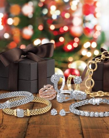 magazine cover, magazine ad, holidays, jewelry, ring, bracelet, studs, christmas, jewelry ad, creative jewelry ad