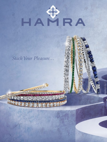 magazine ad, print ad, blue, bangles, stackable, ad, beautiful, jewelry ad, creative jewelry ad
