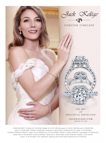magazine ad, print ad, jewelry, engagement, beautiful, model