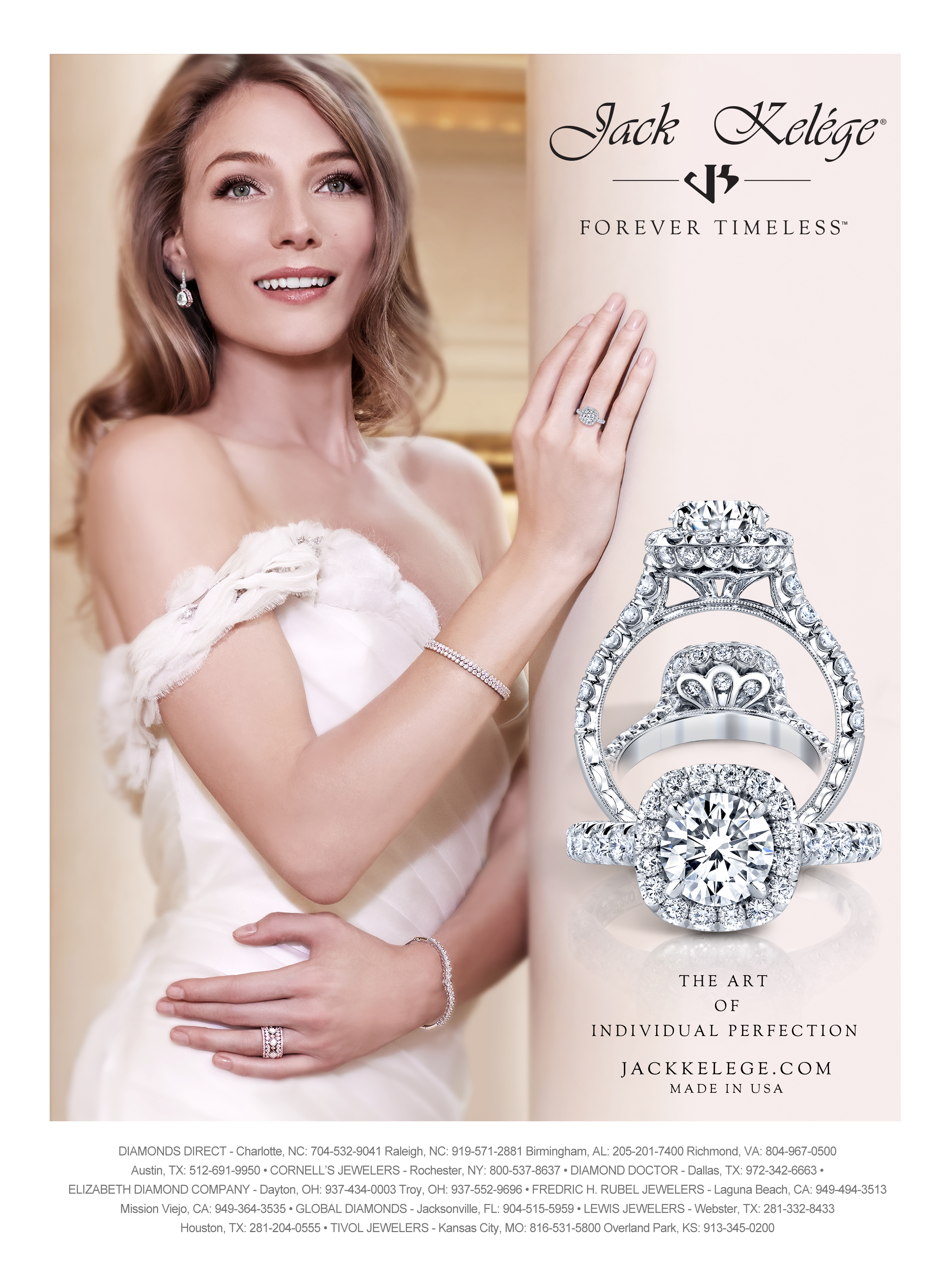 magazine ad, print ad, jewelry, engagement, beautiful, model