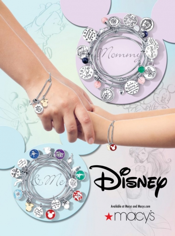 magazine ad, print ad, mommy and me ad, ad, disney, pastel, instyle, jewelry ad, creative jewelry ad