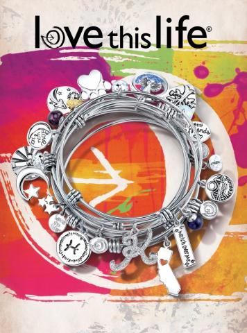 magazine ad, bangles, print ad, love this life, creative jewelry ad, jewelry ad