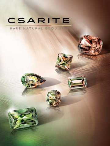 magazine ad, print ad, ad, precious stones, color stones, colorful, creative jewelry ad