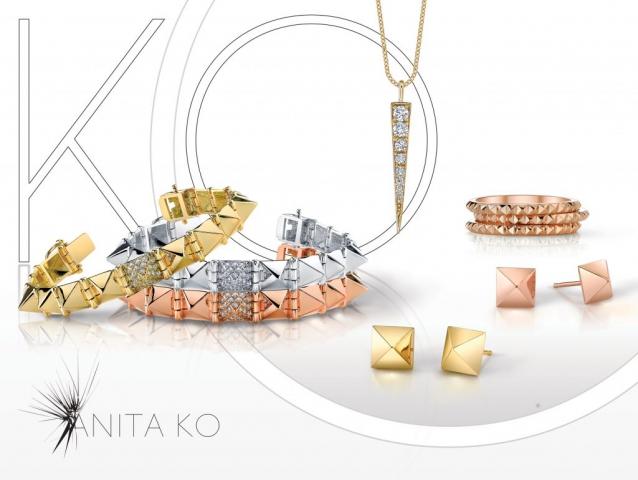 print ad, jewelry, modern jewelry, spikes