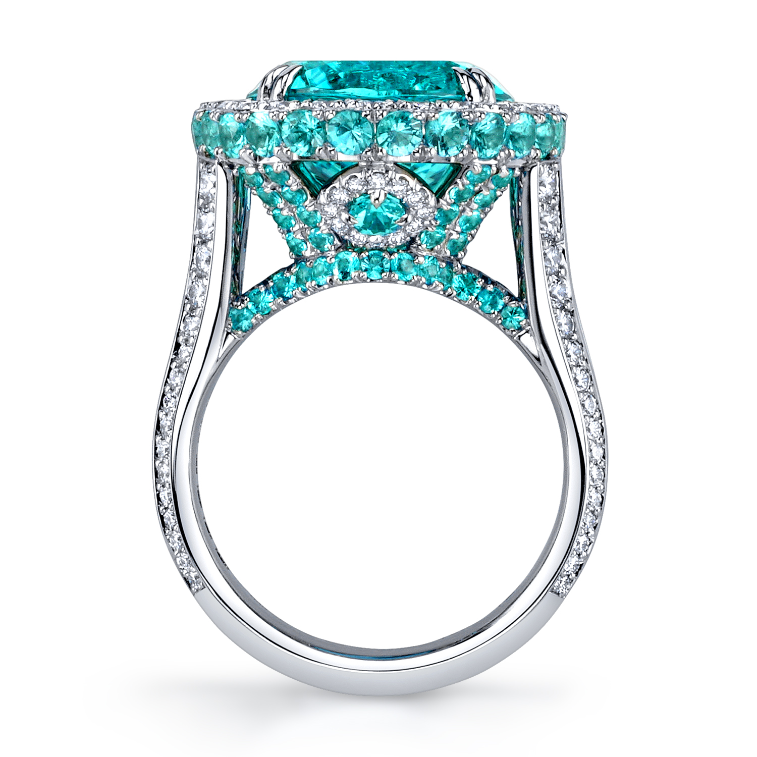 ring, gold, diamonds, paraiba, jewelry photography, beautiful ring