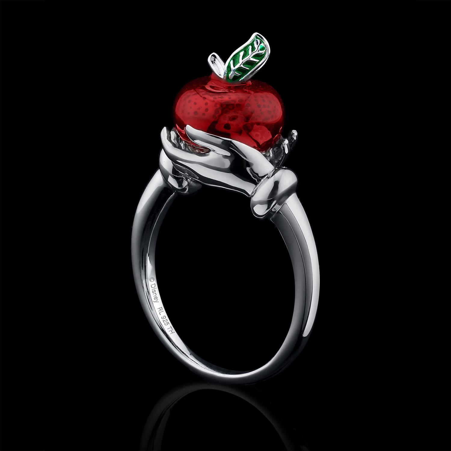 ring, enamel, silver, Snow White, Disney, jewelry photography, beautiful ring